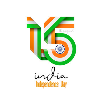 India independence day graphic design - Vector illustration