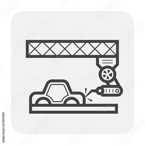 Car Manufacture Icon Stock Image And Royalty Free Vector Files On