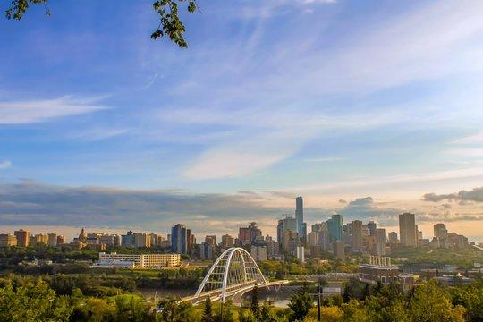 Morning Edmonton Skyline