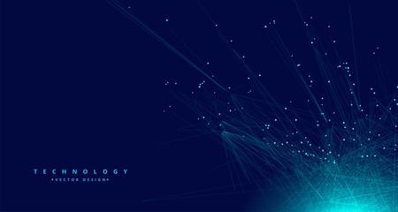 Fototapeta technology digital data mesh network background obraz