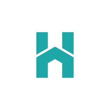 the concept logo H