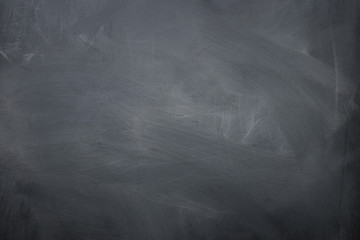 Empty blackboard background top view