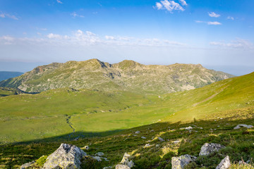 Wall Mural - View of Rila mountains in Bulgaria