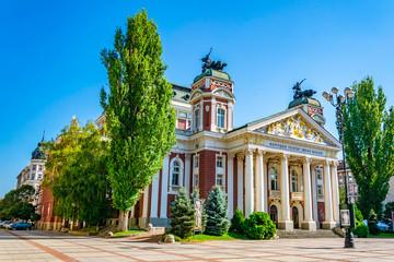 Ivan Vazov theatre in Sofia, Bulgaria