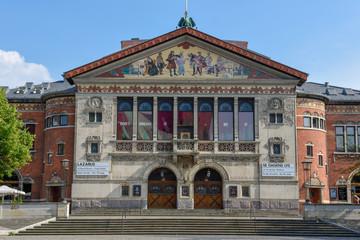 Old opera building at Aarhus in Denmark