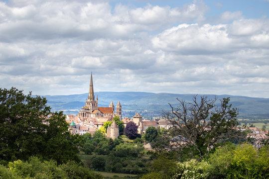 Vista of Bougogne France