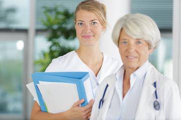 portrait of a medical team