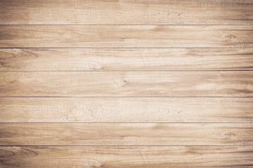 Fotobehang Hout Brown wood texture background