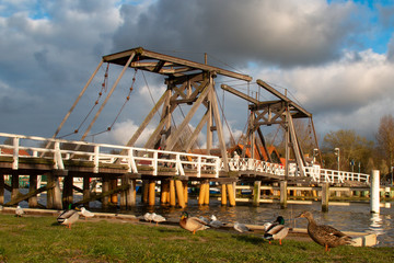 Brücke über den Ryck