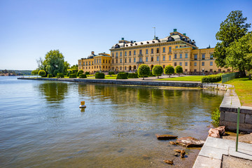 Fotobehang Drottningholm palace