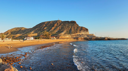 """Beach """"Playa de Tauro"""" on Grand Canary Island - not far from famous Amadores Beach"""