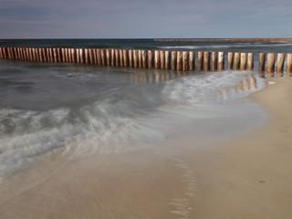 Falochrony - Dziwnówek Dziwnowo Plaża