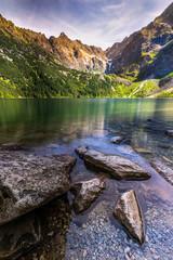 Fototapeta Morskie oko - Rysy - Tatry obraz