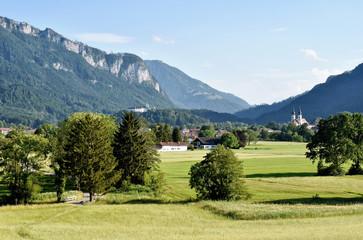 Beautiful Landscape - Bavaria - Aschau, Hohenaschau Castle