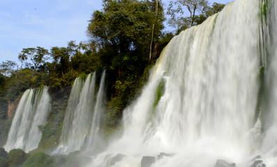 Foto op Canvas waterfall in Iguazu( iguaçu) Falls. Brazil