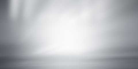white gray background / grey gradient abstract background