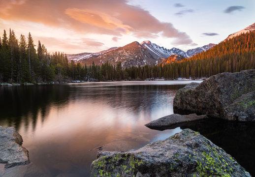 Colorful Bear Lake Sunrise