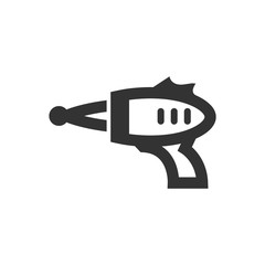 Outline Icon - Toy gun