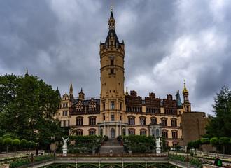 Schweriner Schloss von der Seeseite