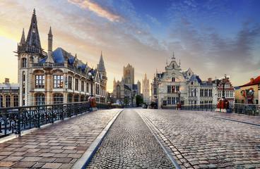 Ghent town, Belgium