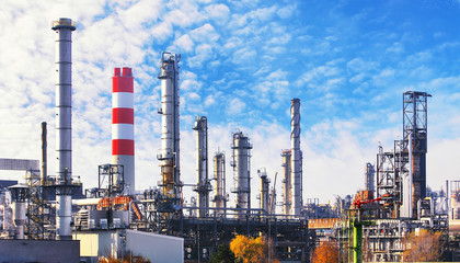 Oil and gas petrochemical plant, Industry factory