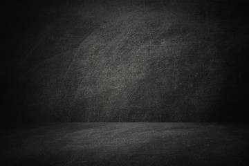 Fototapete - blackboard or chalkboard studio backdrop background