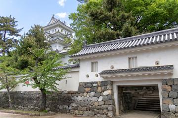 大垣城の西門