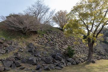 名護屋城の石垣