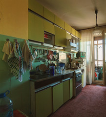 Old Kitchen Interior