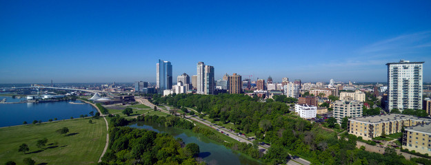 Milwaukee Skyline June 27, 2019