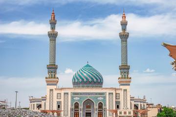 .07/05/2019 Qom,.Qom Province.Iran, View of Imam Hasan Askari Mosque on a sunny day