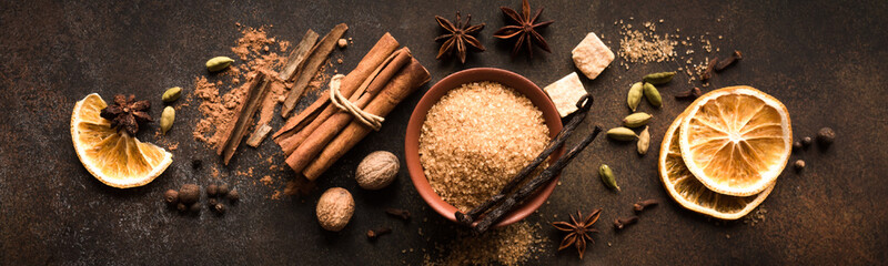 Fototapeta Mulled Wine Spices