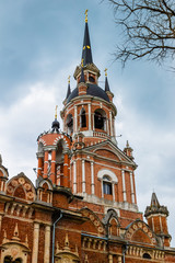 Cathedral of St. Nicholas of Mozhaisk Kremlin, Moscow region, Russia.