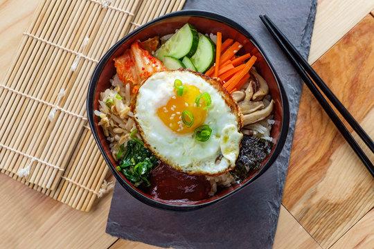 Korean Food Vegetarian Bibimbap