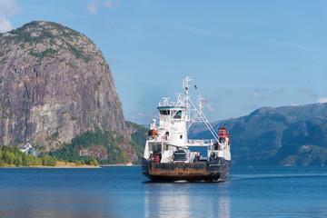 ferry boat approaching
