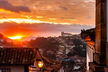 Nascer do sol - Ouro Preto, Brasil.