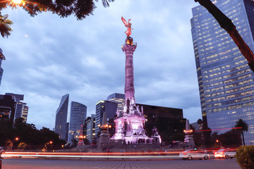 ciudad de mexico, mexico city Papier Peint