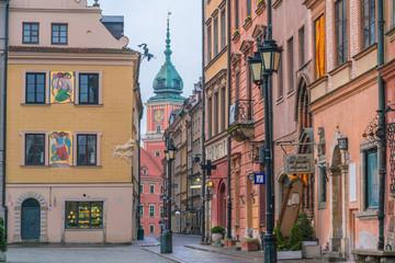 Wall Mural - Buildings in  Warsaw oldtown, Poland