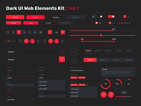 ui kit for web