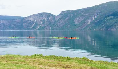 Kajaktour auf dem Eidfjord