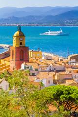 view of Saint-Tropez, Var, France