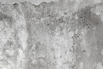 Fototapete - Rough gray concrete wall with faded stucco