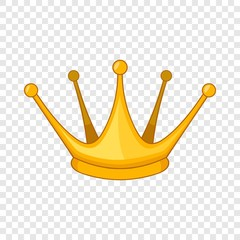 Milady crown icon. Cartoon illustration of milady crown vector icon for web design