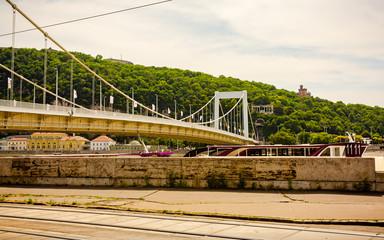 Elisabethbridge across the Danube in Budapest