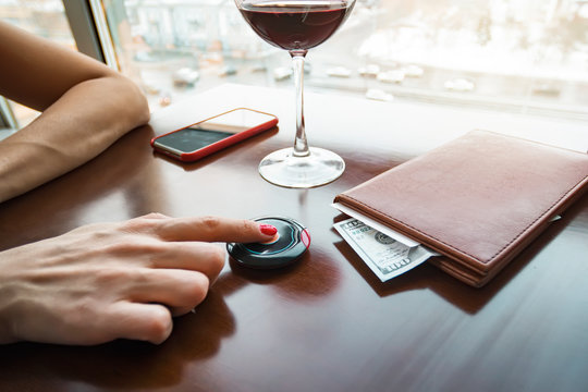 Account Book on table with Money. Luxury Life. had Good Rest. Rich People. successful people. tip for waiter. nice service. big money. thanks from visitors customer. Good Tips.