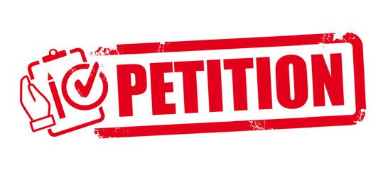Stempel Petition Fototapete