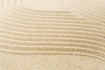 Foto op Plexiglas Stenen in het Zand Sand pattern