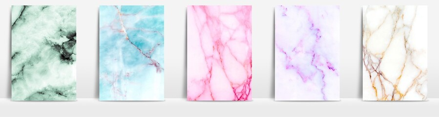 Slats personalizados com sua foto Marble collection abstract pattern texture color background.