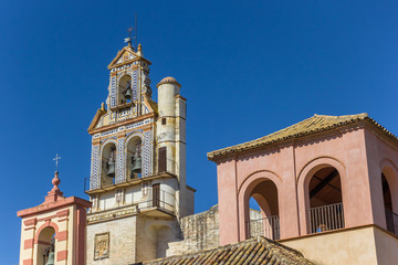 Fototapete - Bell tower of the San Juan Church in Ecija, Spain