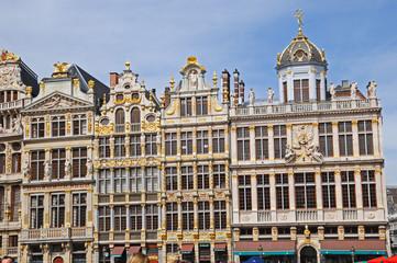Bruxelles, i palazzi della Grand Place - Belgio